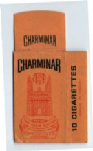 Collectible Old cigarette packet Charminar + slide  #055